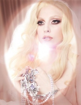 Lady Gaga in MAC cosmetic ad