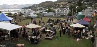 New Zealanders in Lyttelton