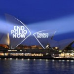Sydney Opera House displays Rotary's message