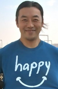 Eiji Shimizu, producer of documentary, Happy