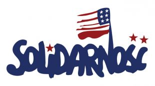 solidarity union logo with US flag