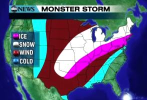 ABC News weather map