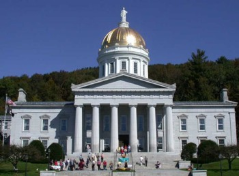 Vermont State House in Montpelier by Matthew Trump - CC license
