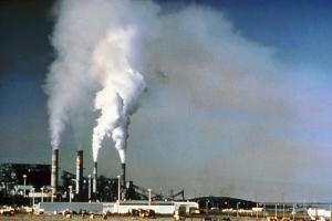 air pollution - NPS photo