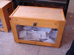 ballot box in Egypt -Kodak Agfa via Flickr -CC license