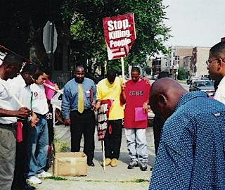 Chicago Ceasefire rally - photo courtesy of website