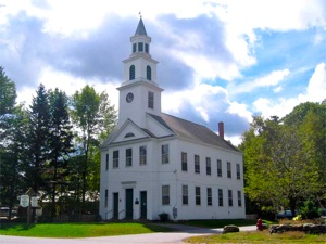 New England meeting hall in VT -by Jared-Benedict, CC license