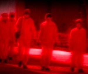 The Fukushima 50 in hazmat suits ABC video