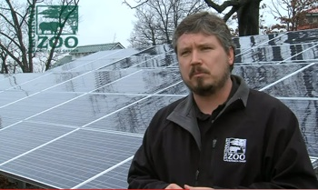 Solar panels rise at Ohio zoo