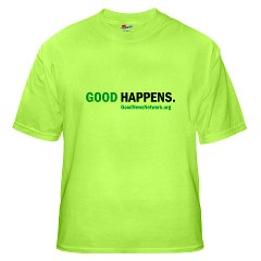 Good Happens tee, Mens size