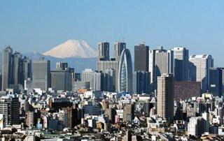 Tokyo Shinjuku skyline by Morio -CC license