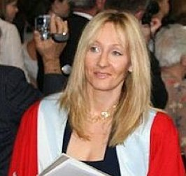 JK Rowling photo by Sjhill -GNU license