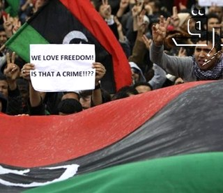 Libyan revolution by BRQ photo stream, Flickr -CC license