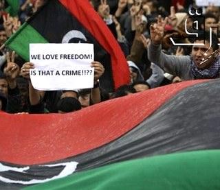 Libyan revolution by BRQ photo stream, Flickr -CC license