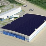 Boeing factory with its solar design