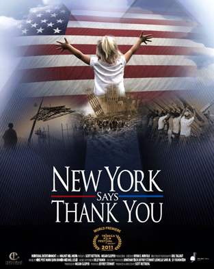 Documentary poster: New York Says Thank You