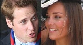 Prince William and Kate, now the Duke and Duchess of Cambridge