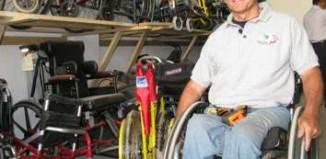 wheelchair hero Richard-St-Denis