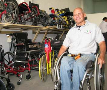 wheelchair hero Richard-St-Denis