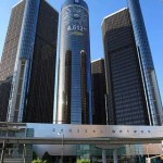 GM headquarters in Detroit by James Marvin Phelps