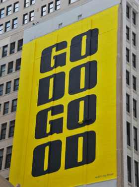 Go-Do-Good banner, Chicago