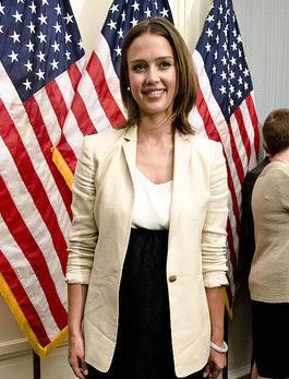 Jessica Alba in Washington, DC