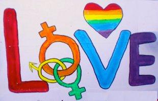 photo by Arashdeep via Morguefile - gay pride rally