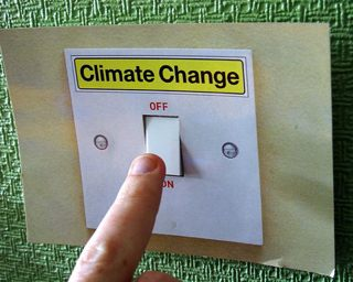 Climate Change light switch photo - Twm Flickr photo stream