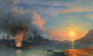 Aivazovsky painting that fetched $1.4mil at auction