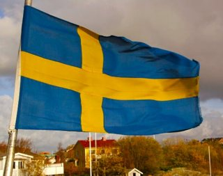 Swedish flag by seemann -CC via Morguefile