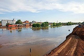 flooding in North Dakota, courtesy of ND Community Foundation