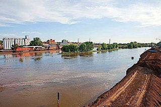 flooding in North Dakota, courtesy of ND Community Foundation