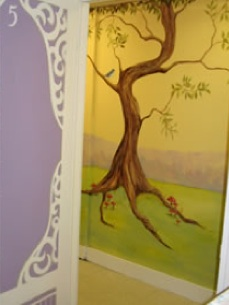Enchanted Makeovers painted murals