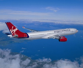 Virgin Airways jet