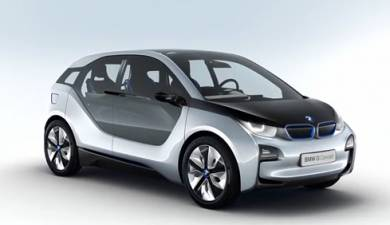 BMW electric vehicle i3