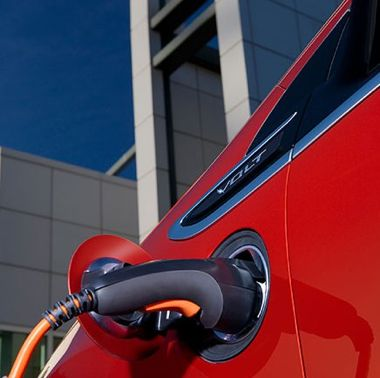 EV charger for Chevy Volt - GM photo