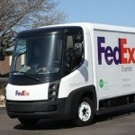 FedEx Express Navistar eStar delivery van