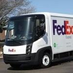 FedEx Express Navistar eStar delivery van