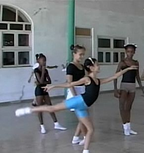 dance school Havana, NBC video clip