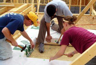Interfaith Housing Alliance photo of self-help ownership program