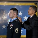 Obama gives Medal of Honor to Sgt. Petry -WH photo
