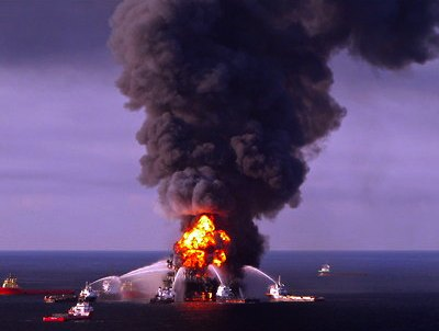 BP oil spill in the Gulf - Coast Guard photo