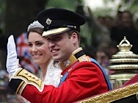Prince William's wedding to Kate Middleton, by Robbie-Dale CC Flickr