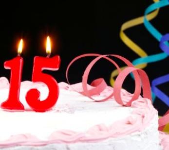 15-year-cake