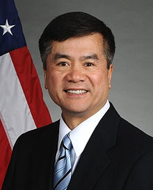 Gary Locke, the new ambassador to China