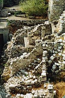 Jerusalem ruins