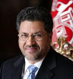 Afghan Education Minister, Dr. Farooq Wardak