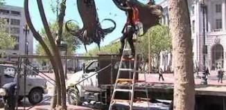 art installation in SF by Burning Man group - KTVU video