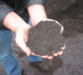 asphalt shingle grindings