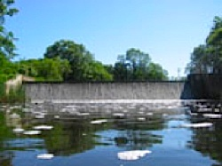 Winnicut River dam - NH government photo